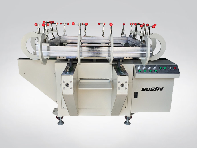 Electrical High Precision Mesh Stretching Machine
