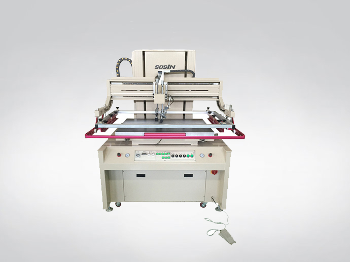 Electrical Screen Printing Machine