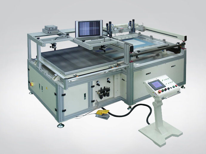 Vision System Auto Screen Printing Machine
